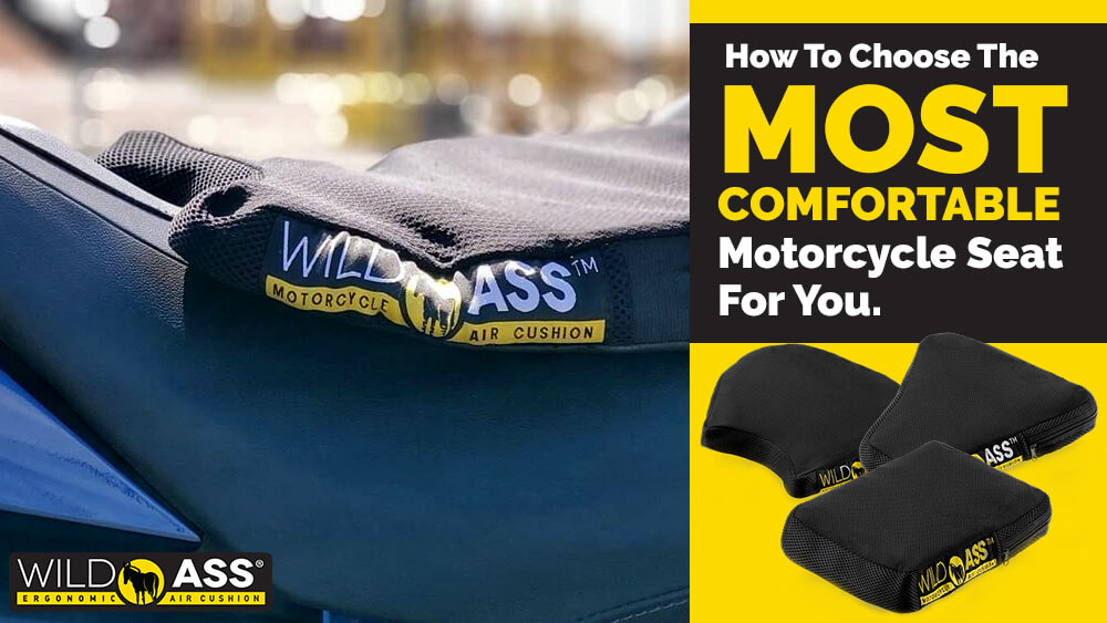 How To Choose The Most Comfortable Motorcycle Seat For You