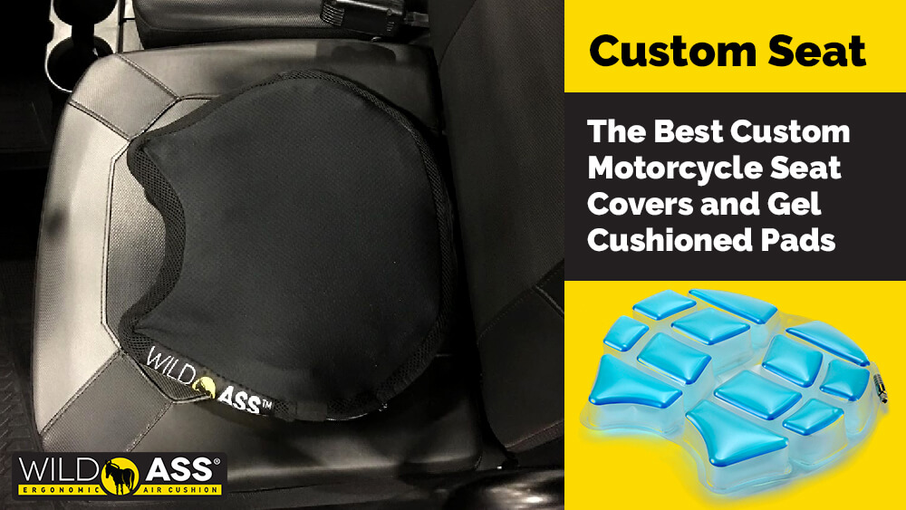 The Best Custom Motorcycle Seat Covers and Gel Cushioned Pads