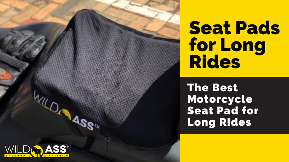 The Best Motorcycle Seat Pad for Long Rides