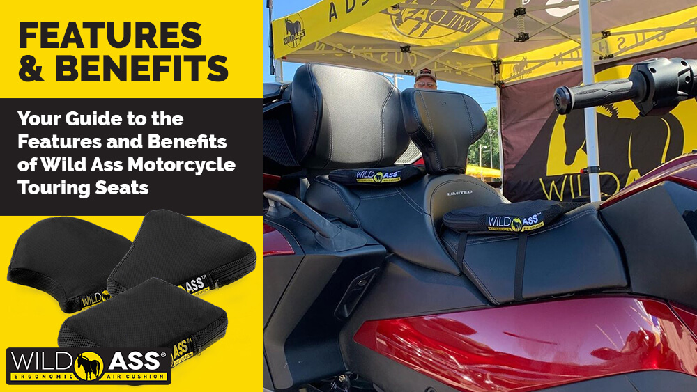 Your Guide to the Features and Benefits of Wild Ass Motorcycle Touring Seats