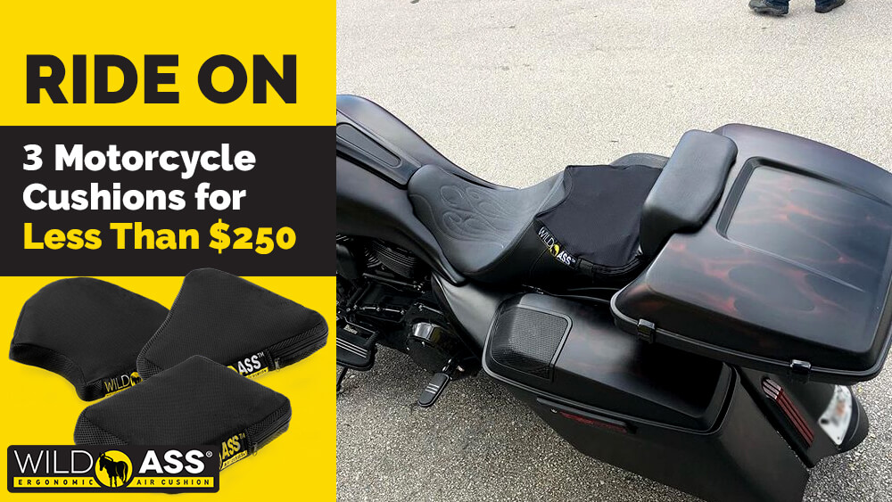 Ride On: 3 Motorcycle Cushions for Less Than $250