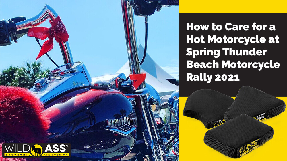 How to Care for a Hot Motorcycle at Spring Thunder Beach Motorcycle Rally 2021